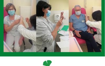 Lancement de la campagne de vaccination contre la COVID 19